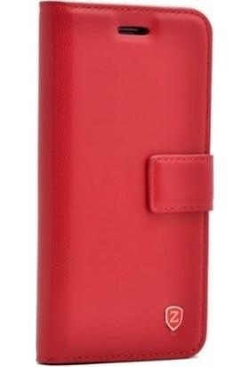 Teleplus Samsung Galaxy A30s Cüzdanlı Kılıf Kırmızı