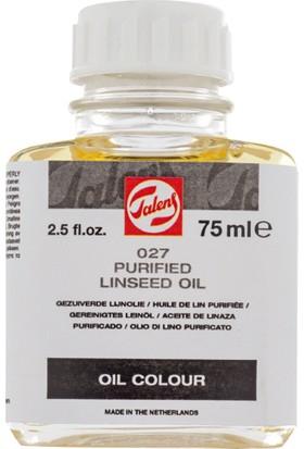 Talens Purified Linseed Oil 027 Saf Keten Tohumu Yağı 75 ml
