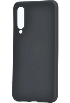 Tbkgsm Xiaomi Mi9 Lite Mat Silikon Kılıf Siyah
