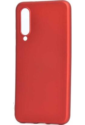 Tbkgsm Xiaomi Mi9 Lite Mat Silikon Kılıf Kırmızı
