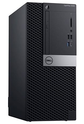 Dell OptiPlex 5070MT Intel Core i7 9700F 8GB 1TB Windows 10 Pro Masaüstü Bilgisayar N009O5070MT_W