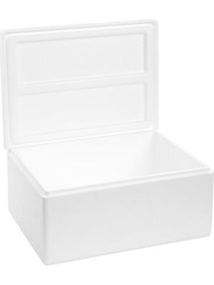 Viyol Pazarı Strafor Köpük Kutu 26.6x20,7x17,3 cm 1,5 kg - 5 Adet D-3