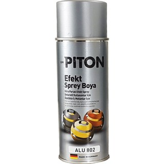 Piton Efekt Sprey Boya - Ultra Parlak Alu 802 - 400 ml