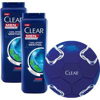 Clear Men Cool Sport 500 ml 2 Adet Avantaj Paketi Futbol Topu Hediyeli