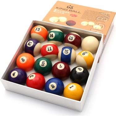 Pusula Oyun King Ball Amerikan Bilardo Top Seti 57.2 mm Fiyatı