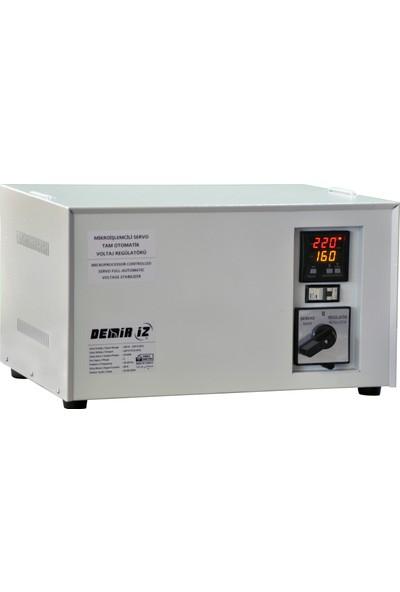 Demiriz MSR 10 (160 V - 250 V) 10 kVA Monofaze Tam Otomatik Servo Voltaj Regülatörü
