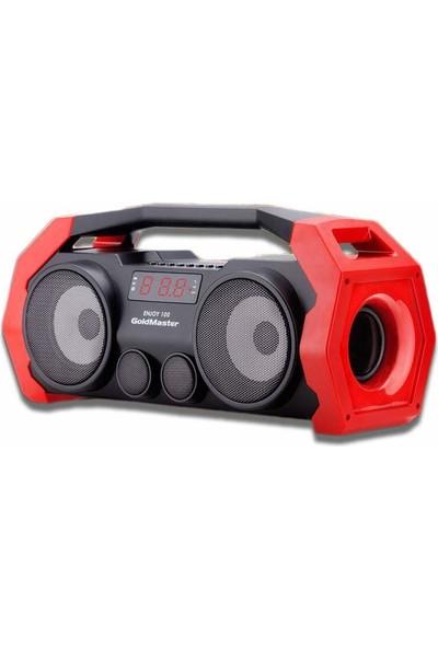 Goldmaster ENJOY-100 Bluetooth ve Usd Ses Sistemi (Kırmızı)