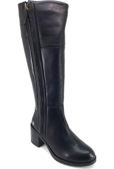 Mammamia 2145 Günlük Kadın Çizme Siyah