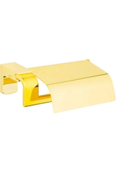 Tema Premium Kağıtlık Altın Renk Kapaklı 71009-1