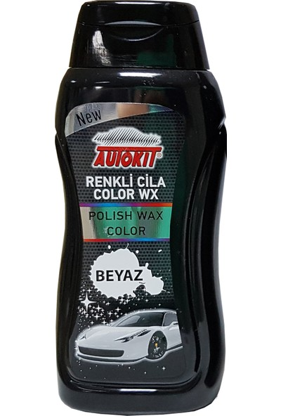 Autokit Renkli Cila Beyaz