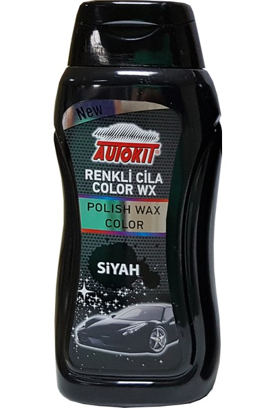 Autokit Renkli Cila Siyah