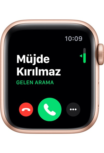 Apple Watch Seri 5 40mm GPS Gold Alüminyum Kasa ve Pink Sand Spor Kordon MWV72TU/A