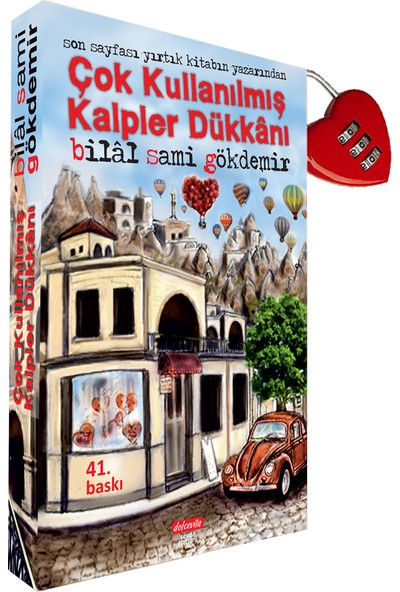 Çok Kullanılmış Kalpler Dükkanı Kilitli Kitap - Bilal Sami Gökdemir