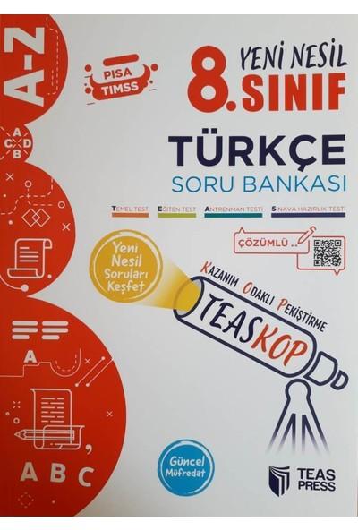 Teas Press 8. Sınıf Teaskop Yeni Nesil Türkçe Soru Bankası