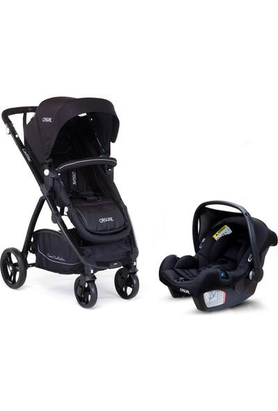 Casual Cadillac Trona Travel Sistem Bebek Arabası - Black