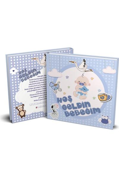 Turuncu Bir Kafa Erkek Bebek Güncesi - 52 Sayfa