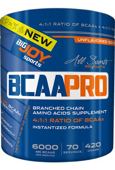 Bigjoy Bcaa Pro 4:1:1 420 gr 70 Servis Aromasız Bcaa Powder