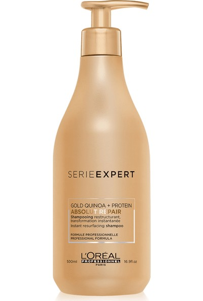 Loreal Professionnel Serie Expert Abs Repair Gold Quinoa Protein Şampuan 500 ml