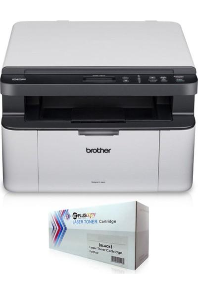 Brother DCP-1511 Yazıcı Tarayıcı Fotokopi A4 Tam Dolu Pluscopy Tonerli