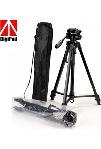Rekor TR-462 Digipod 157 cm Profesyonel Tripod + Çanta