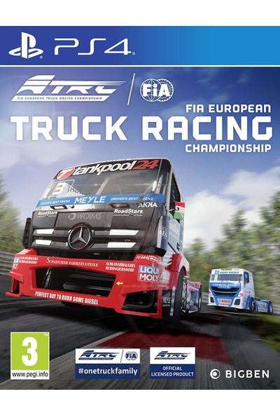 Fia European Truck Racing Championship PS4 Oyun