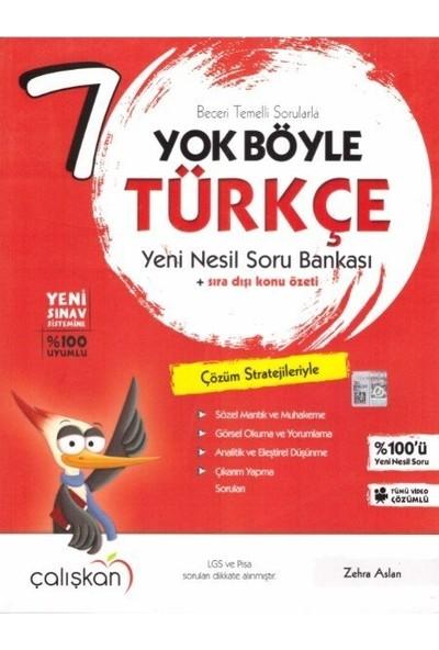 7. Sınıf Yok Böyle Türkçe Soru Bankası Çalışkan Yayınları