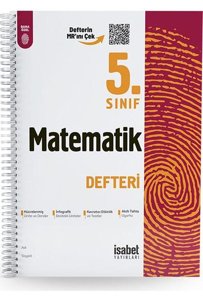 İsabet Yayıncılık 5. Sınıf Matematik Ders Defteri
