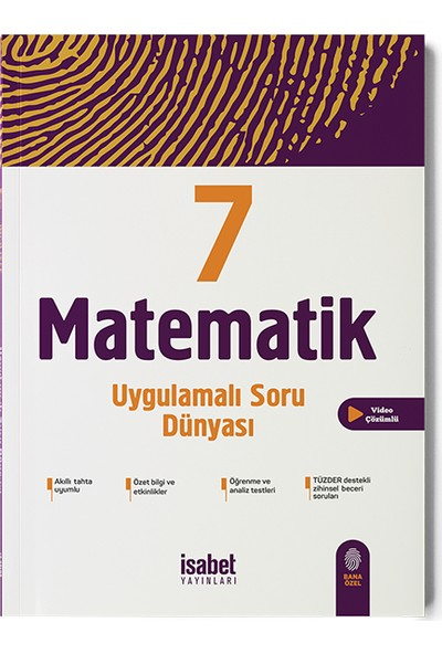 İsabet Yayıncılık 7. Sınıf Matematik Uygulamalı Soru Dünyası