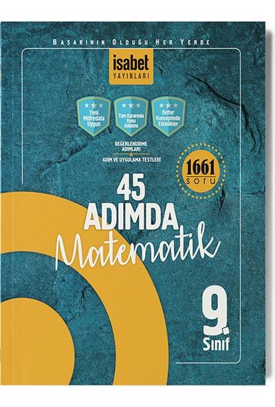 İsabet Yayıncılık 9. Sınıf 45 Adımda Matematik