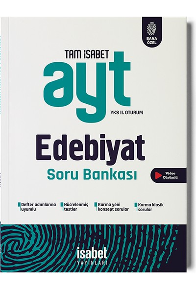 İsabet Yayıncılık AYT Edebiyat Soru Bankası