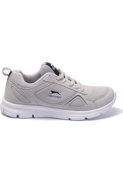 Slazenger German I Koşu & Yürüyüş Erkek Ayakkabı Kırık Beyaz