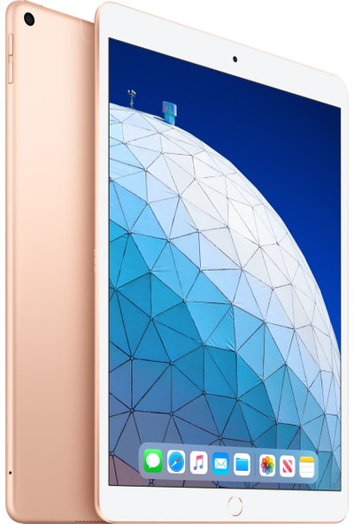 """Apple iPad Air 3 256GB 10.5"""" Wi-Fi+ Cellular Retina 4G Tablet - Altın MV0Q2TU/A"""