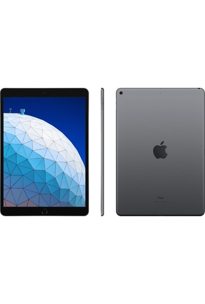 "Apple iPad Air 3 256GB 10.5"" Wi-Fi Retina Tablet - Uzay Grisi MUUQ2TU/A"