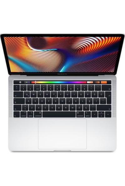 "Apple Macbook Pro Touch Bar Intel Core i5 8259U 8GB 512GB SSD MacOs 13"" QHD Taşınabilir Bilgisayar MR9V2TU/A - Gümüş"