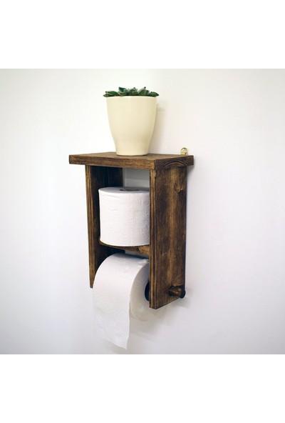 Tasarım Ahşap Tuvalet Kağıtlığı
