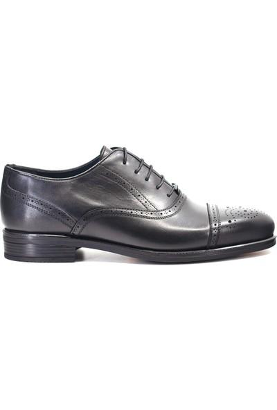 Mammamia D19KA-7070 Erkek Deri Klasik Ayakkabı Siyah