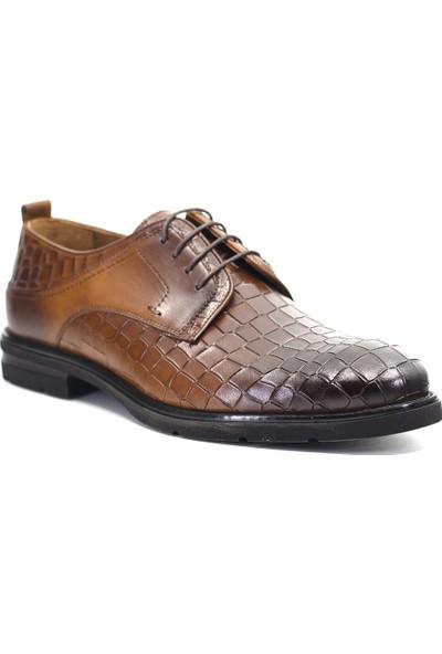 Mammamia D19KA-7200 Erkek Deri Klasik Ayakkabı Taba