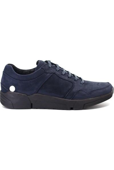 Mammamia D19KA-7295 Erkek Deri Klasik Ayakkabı Lacivert