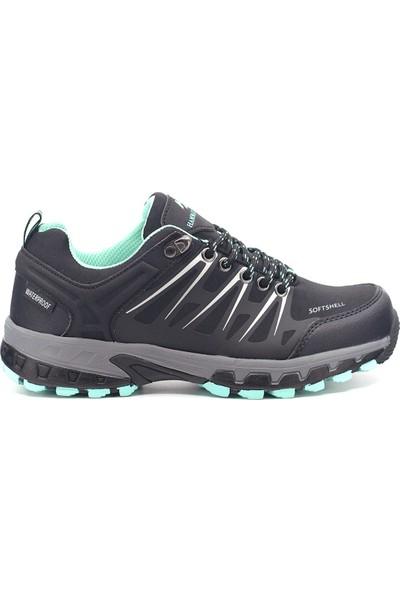 Hammer Jack 9K-G19905 Kadın Deri Günlük Ayakkabı Siyah