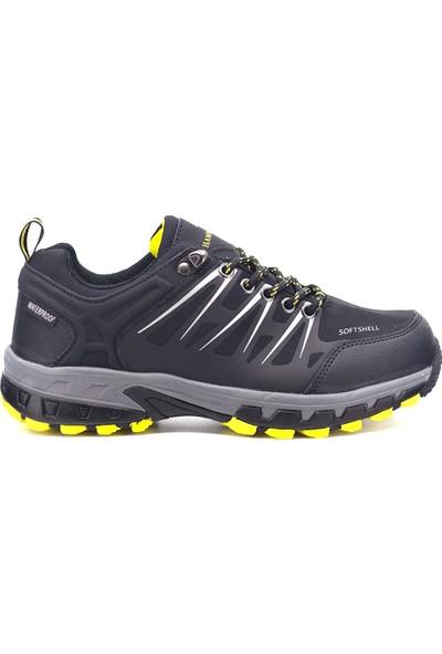 Hammer Jack 9K-G19905 Kadın Deri Günlük Ayakkabı Siyah - Gri