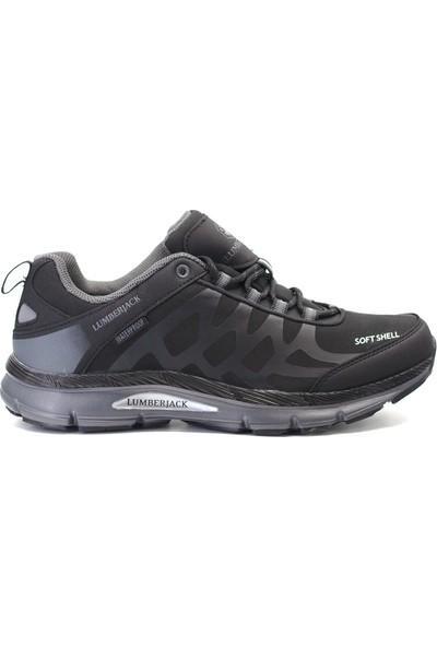 Lumberjack 9K-100420728 Ursa Erkek Ayakkabı Siyah - Gri