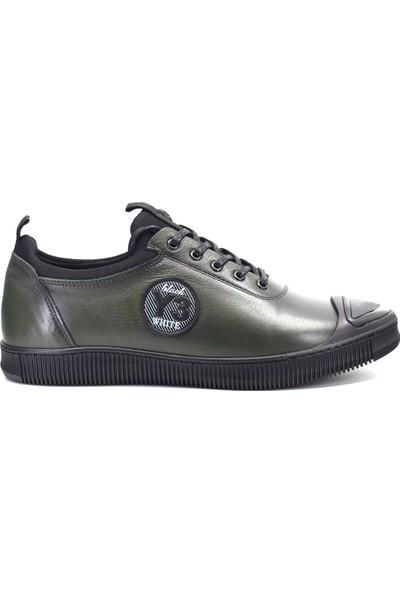 Marcomen 9K-03322 Erkek Deri Günlük Ayakkabı Haki