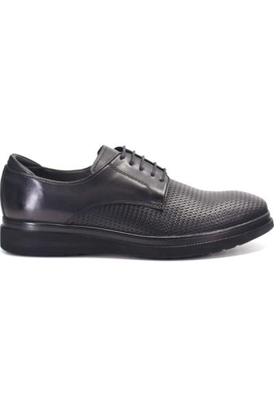 Eşle 9K-107802 Erkek Deri Günlük Ayakkabı Siyah
