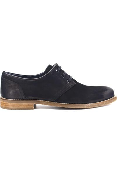 Eşle 9K-156501 Erkek Deri Günlük Ayakkabı Siyah