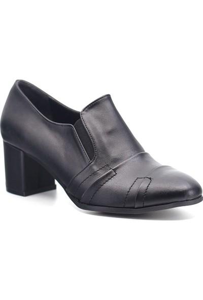Eşle 9K-9071 Kadın Topuklu Ayakkabı Siyah