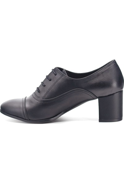 Eşle 9K-9081 Kadın Topuklu Ayakkabı Siyah