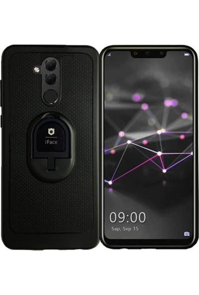 Iface Huawei Mate 20 Lite Yüzüklü Standlı Silikon Kılıf