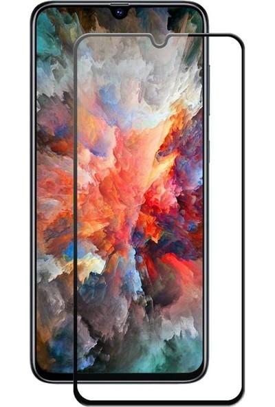 Diamond Glass Samsung Galaxy A70 Tam Kaplayan 5D Kırılmaz Ekran Koruyucu Cam
