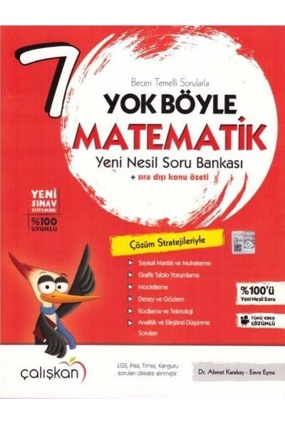 Çalışkan Yayınları 7. Sınıf Yok Böyle Matematik