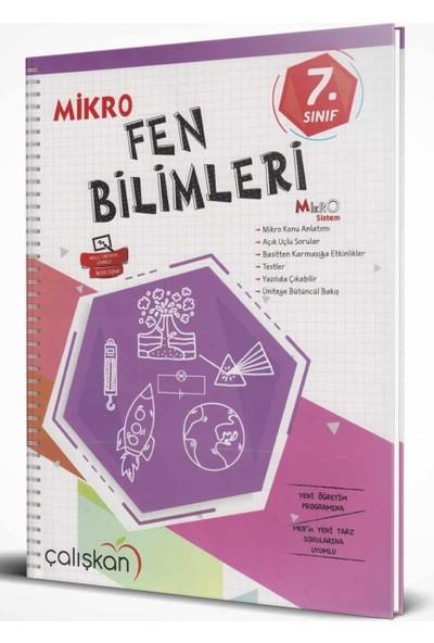Çalışkan Yayınları 7. Sınıf Fen Bilimleri Mikro Defter
